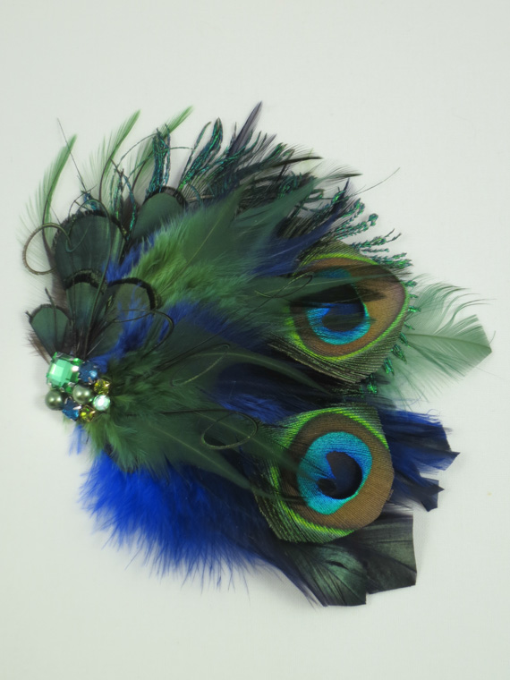 Blue And Green Peacock...